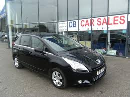 peugeot family car used 2011 peugeot 5008 1 6 hdi family fap 5d 112 bhp for sale in