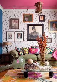 100 purple livingroom round shaped ottoman coffee table