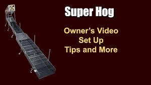 super hog highbanker owner u0027s manual youtube
