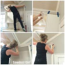 how to add crown moulding to cabinets how to install crown molding on kitchen cabinets sawdust