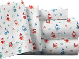 pointehaven owl 100 cotton flannel sheet set u0026 reviews wayfair