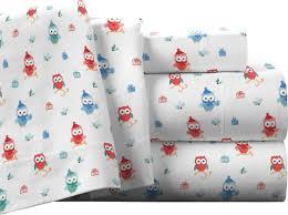 pointehaven owl 100 cotton flannel sheet set u0026 reviews wayfair