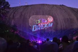 stone mountain laser light show the laser show at stone mountain park picture of stone mountain