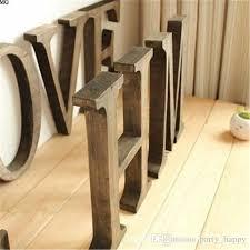 10x1 5cm thick wood wooden letters alphabet diy bridal wooden letters home decoration wood wooden letters alphabet for