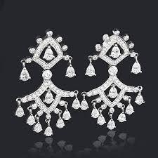 Designer Chandelier Earrings Designer Chandelier Earrings 8 57ct 18k Gold Designer
