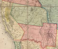 Western United States Map Map Of The United States With Its Territories Also Mexico And The
