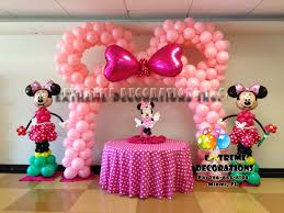 minnie mouse party supplies minnie mouse birthday table decoration image inspiration of cake