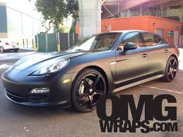 porsche panamera matte red porsche panamera satin matte wrap car wraps in san francisco