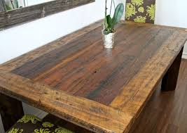 modern harvest table farmhouse table ideas in dining room for