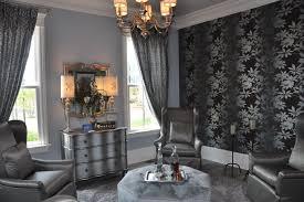 endearing 30 black silver living room designs design inspiration