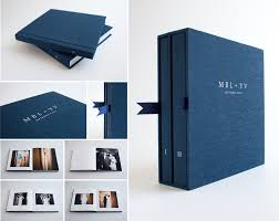 photo album set uncommonbindery dolan photographer wedding album set