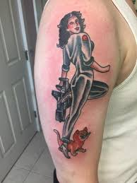 my for my birthday ripley pinup by derik