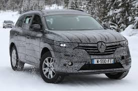 renault koleos 2017 new renault koleos ii spy shots exclusive images and official