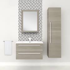 Bathroom Mirrors At Lowes by Cutler Kitchen U0026 Bath Silhouette Collection 30 In Wall Hung Vanity