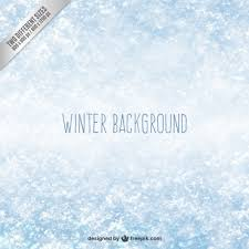 winter snow background vector free