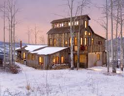 barn like homes allen guerra architects breckenridge architect