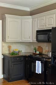 Black Paint For Kitchen Cabinets Black Kitchen Cabinets The At Home With The Barkers