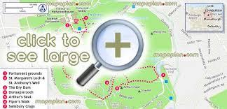 printable map key edinburgh maps top tourist attractions free printable city