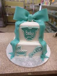 Tiffany Blue Baby Shower Cake - 57 best baby shower cakes images on pinterest baby shower cakes