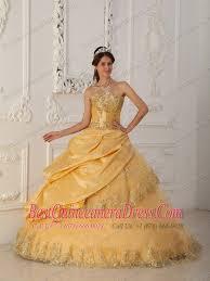gold quince dresses gold quinceanera dresses