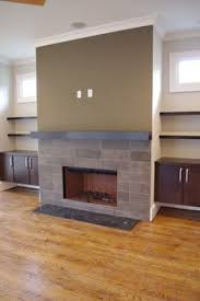 modern fireplace mantel fireplace idea not necessary those colors but the concept of the