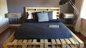 Pallet Bed For Sale Pallet Bed Ideas On A Budget Youtube