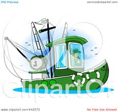 fishing boat clipart leprechaun pencil and in color fishing boat