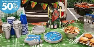 Nfl Decorations Nfl Detroit Lions Party Supplies Party City