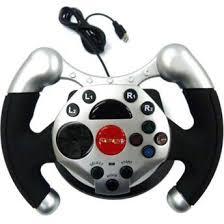 joystick volante volante dual shock racing p pc 62178 maxprint acess祿rios de