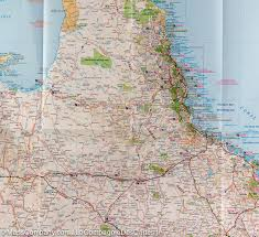 Map Of Queensland Queensland Australie Road Map Hema Maps U2013 Mapscompany