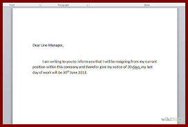polite resignation letter how to write a letter of resignation