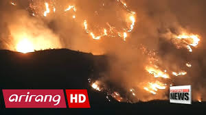 Wildfire History by 5 900 Acres Engulfed In Largest Fire In La History Youtube