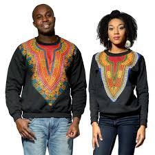 dashiki sweater 2017 fashion clothing cotton splicing dashiki batiks black