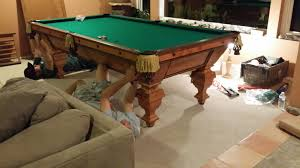 how to refelt a pool table video ez billiards pool tables service movers sales 20613 soledad canyon