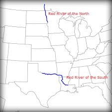 Usa Rivers Map by Red River Valley Red River Valley Potatoes