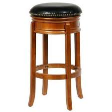 bar stools wood and leather wood leather oak bar stools kitchen dining room furniture