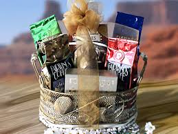 snack basket coffee and snack basket