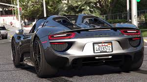 porsche indonesia 2015 porsche 918 spyder u0026 weissach kit add on real spoiler