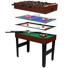 Housse Table De Ping Pong Decathlon by Table 4 Jeux En 1 Billard Babyfoot Hockey De Table Et Ping
