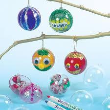 transparent hanging baubles bible craft ideas