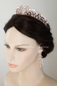 gold headpiece gold wedding tiara headpiece lynne
