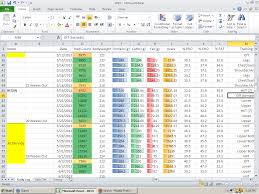 My Spreadsheet Excel Life With My Bodybuilder