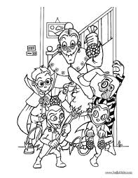 halloween pictures print color free coloring pages