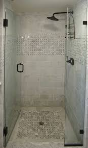 Bathrooms Showers Modern Bathroom Shower Ideas Using Subway Tiles Wall Ideas And