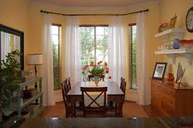 Dining Room Window Coverings Extraordinary Dining Room Window Treatment Ideas Images Design