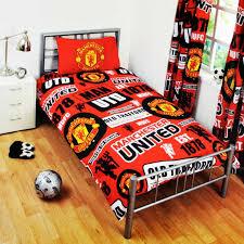 Single Duvet Cover Sets Manchester United Fc Patch Single Duvet Cover Set Huggable Textiles
