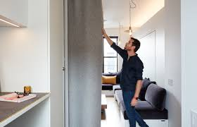 350 sq ft at his 350 square foot apartment small space champion graham hill