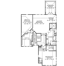 floor plans with porches master with sleeping porch 15784ge architectural designs