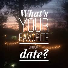 tuesday topics whats your favorite outdoor date therapy