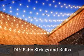 Patio Light How To Hang Patio Lights Yard Envy